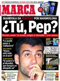 Messi deberia salir positivo de Doping desde Guardiola